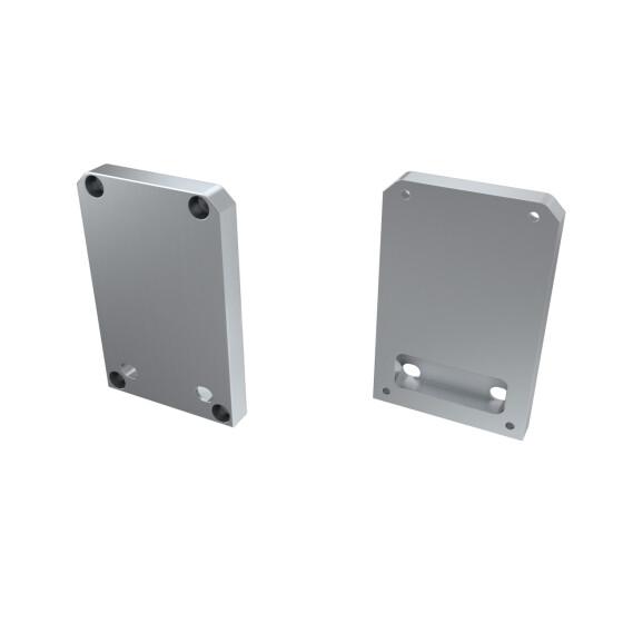 Endkappe für Profil TALIA-M2 aus Aluminium