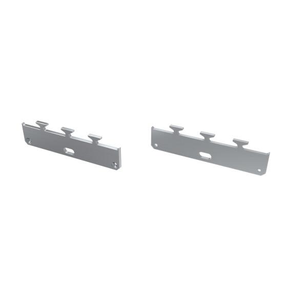 Endkappe für Profil LARGO-M1 aus Aluminium