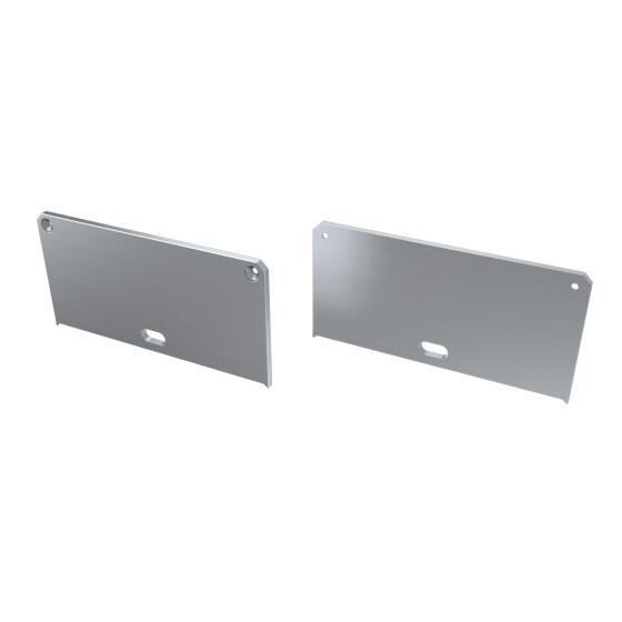 Endkappe für Profil LARGO-M2 aus Aluminium