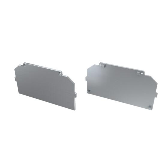 Endkappe für Profil LARGO-M4 aus Aluminium