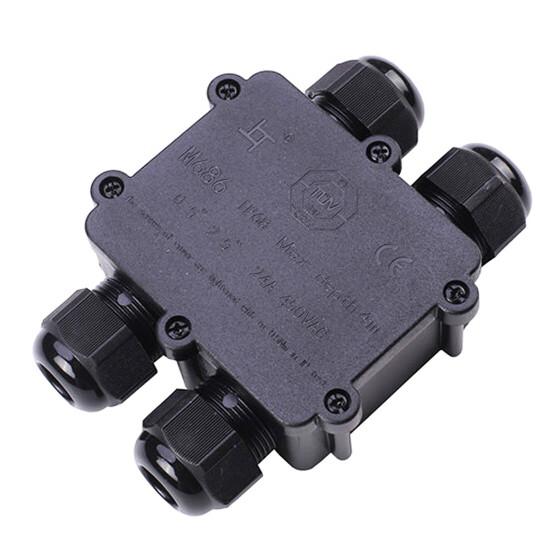 wasserfeste Anschlussdose H Form 4 Anschlüsse IP68 max. 24A 450V AC