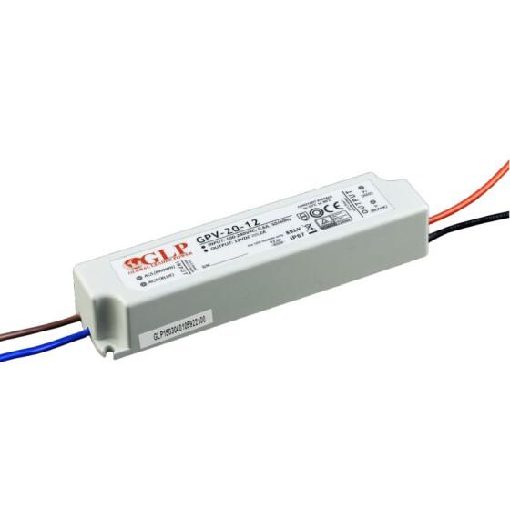 GLP GPV-20 20W / 24W Netzteile IP67 Konstantspannung GPV Serie