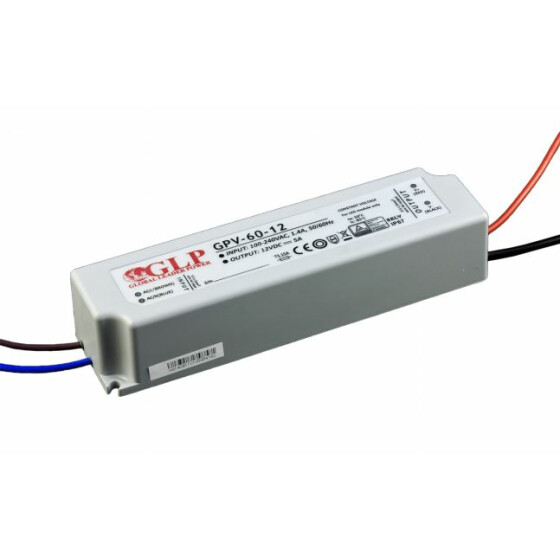 GLP GPV-60 50W / 60W Netzteile IP67 Konstantspannung GPV Serie