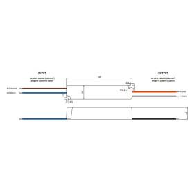 GLP GPVP-35 35W Netzteile IP67 Konstantspannung mit PFC GPVP Serie