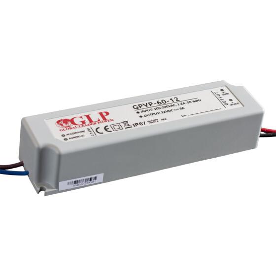 GLP GPVP-60 60W Netzteile IP67 Konstantspannung mit PFC GPVP Serie
