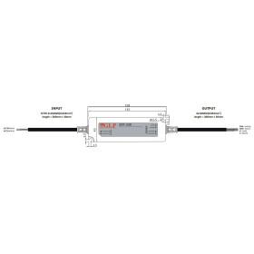 GLP GPF-25D 25W dimbares Netzteile IP67 Konstantstrom mit PFC 3 in 1 Dimmen GPF Serie