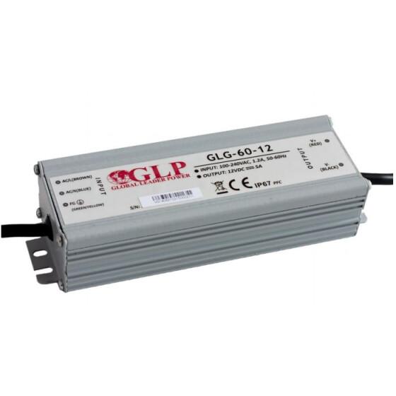 GLP GLG-60 60W Netzteile Metallgehäuse IP67 Konstantstrom mit PFCGLG Serie