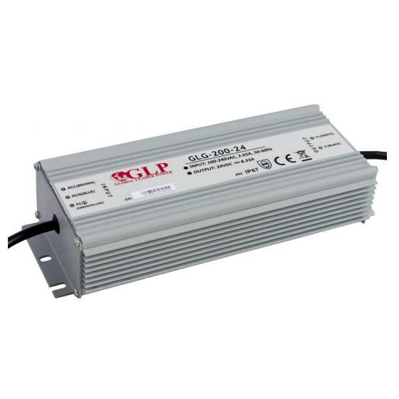 GLP GLG-200 200W Netzteile Metallgehäuse IP67 Konstantstrom mit PFCGLG Serie