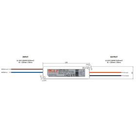 GLP GPV-50 50.4W 24V 2.1A Netzteil IP67 Konstantspannung GPV Serie GPV-50-24