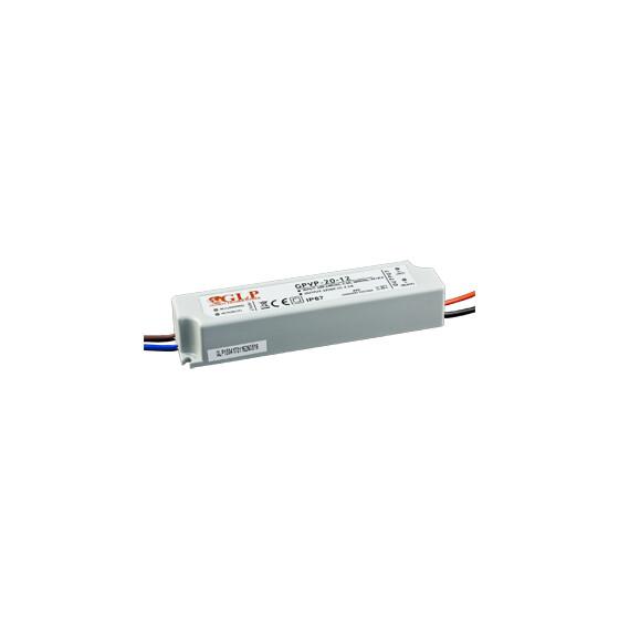 GLP GPVP-20 24W 24V 1A Netzteil IP67 Konstantspannung mit PFC GPVP Serie GPVP-20-24