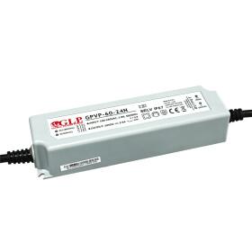 GLP GPVP-60 60W 24V 2.5A Netzteil IP67 Konstantspannung mit PFC GPVP Serie GPVP-60-24
