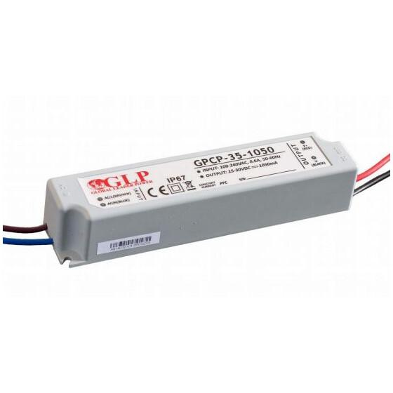 GLP GPCP-35 33.6W 16~32V 1050mA Netzteil IP67 Konstantstrom mit PFC GPCP Serie GPCP-35-1050