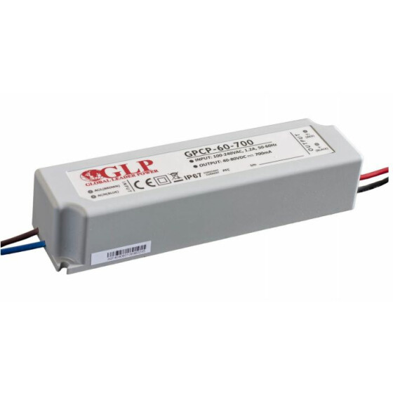 GLP GPCP-60 63W 16~30V 2100mA Netzteil IP67 Konstantstrom mit PFC GPCP Serie GPCP-60-2100