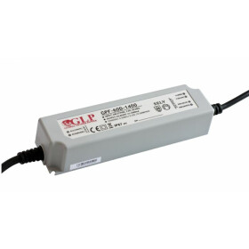 GLP GPF-60D 63W 20~36V 1750mA dimbares Netzteil IP67 Konstantstrom mit PFC 3 in 1 Dimmen GPF Serie GPF-60D-1750