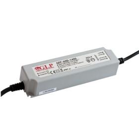 GLP GPF-60D 58.8W 12~24V 2450mA dimbares Netzteil IP67 Konstantstrom mit PFC 3 in 1 Dimmen GPF Serie GPF-60D-2450