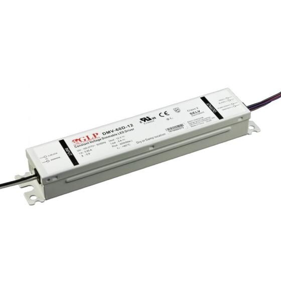 GLP DMV-60D 60W 12V 5A Netzteil Metallgehäuse IP54 Konstantspannung DMV Serie DMV-60D-12 Delta