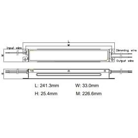 GLP DMC-40D 40W 26~38V 1050mA Netzteil Metallgehäuse IP20 Konstantstrom DMC Serie DMC-40D-1050