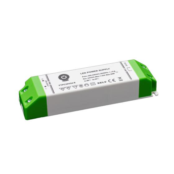 POS Netzteile 24V 1,25A Konstantspannung Kunsstoffgehäuse Serie FTPC-E