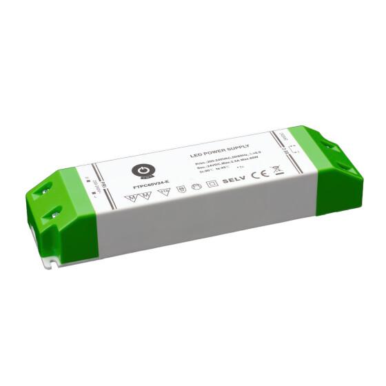 POS Netzteile 24V 2,5A Konstantspannung Kunsstoffgehäuse Serie FTPC-E
