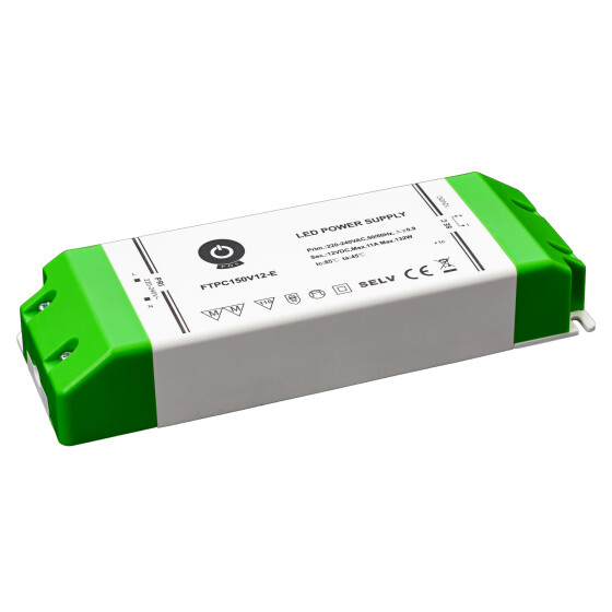 POS Netzteile 12V 11A Konstantspannung Kunsstoffgehäuse Serie FTPC-E