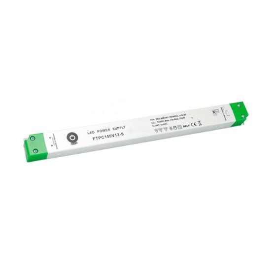 POS Netzteile schmal 12V 11A Konstantspannung Kunsstoffgehäuse Serie FTPC-S