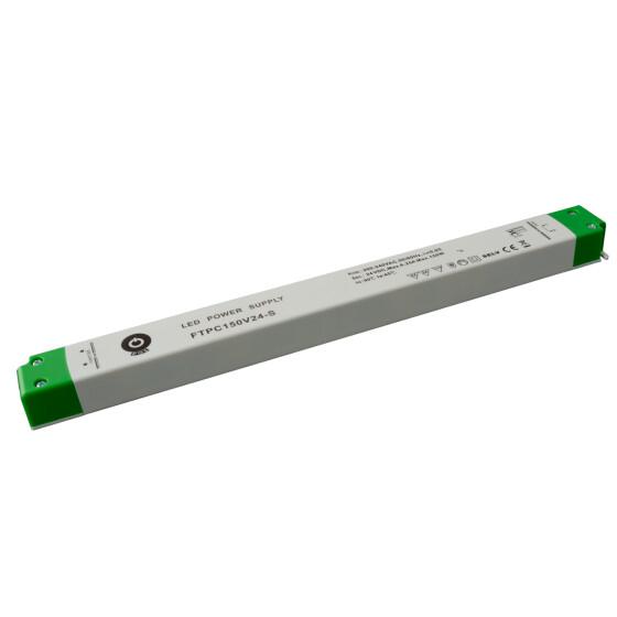 POS Netzteile schmal 24V 6,25A Konstantspannung Kunsstoffgehäuse Serie FTPC-S