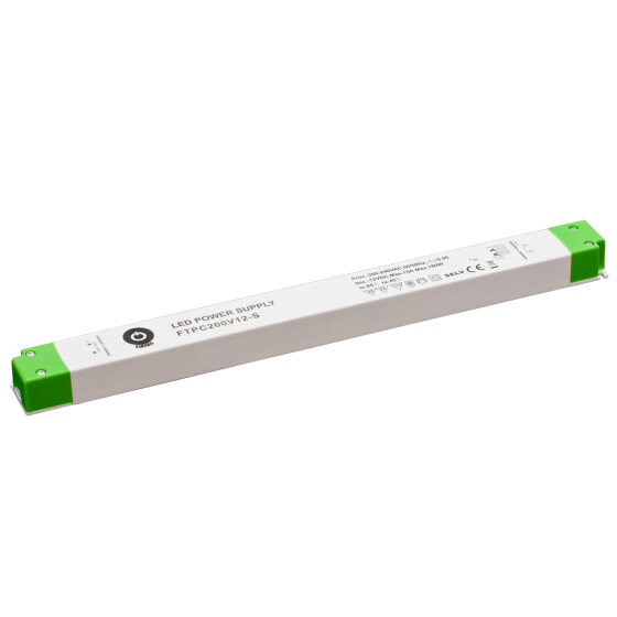 POS Netzteile schmal 12V 14A Konstantspannung Kunsstoffgehäuse Serie FTPC-S