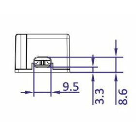 POS Netzteile schmal 24V 8,33A Konstantspannung Kunsstoffgehäuse Serie FTPC-S