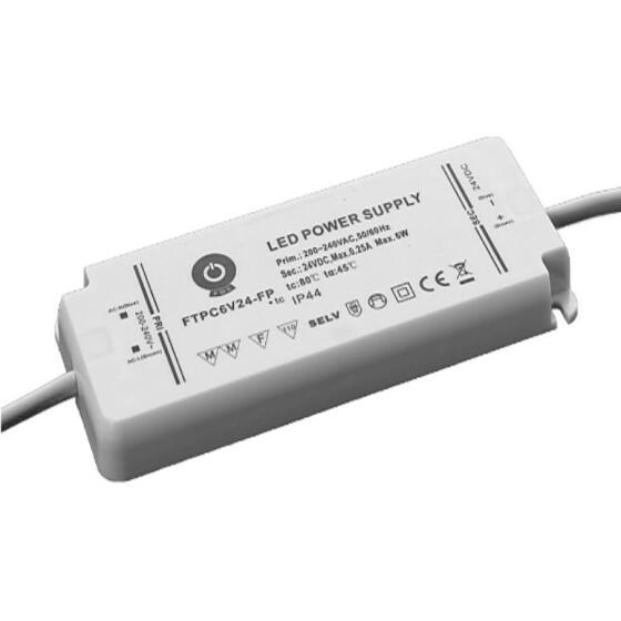 POS IP44 Netzteile 12V 0,5A Konstantspannung Kunsstoffgehäuse Serie FTPC-FP