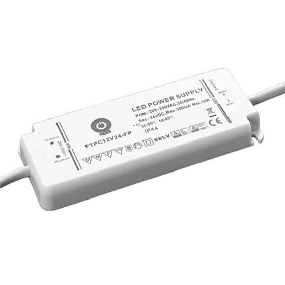 POS IP44 Netzteile 24V 0,5A Konstantspannung Kunsstoffgehäuse Serie FTPC-FP