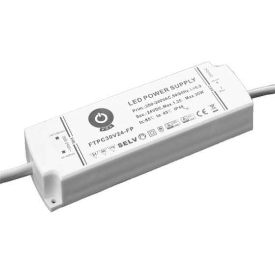 POS IP44 Netzteile 12V 2,5A Konstantspannung Kunsstoffgehäuse Serie FTPC-FP