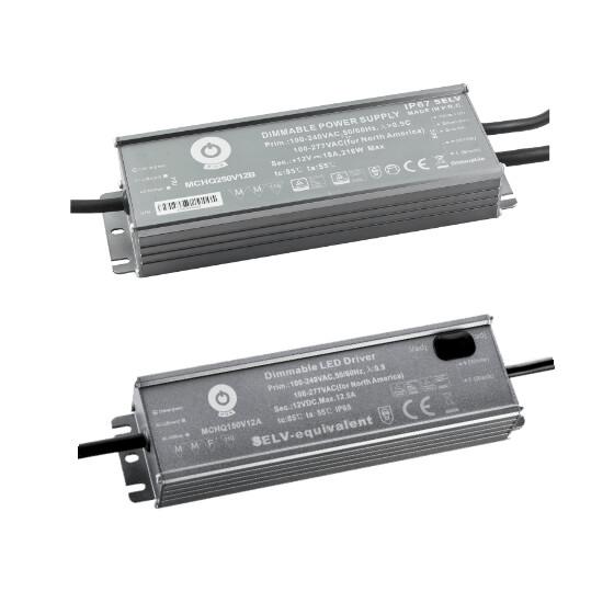 POS Netzteile Konstantspannung Metallgehäuse Serie MCHQ
