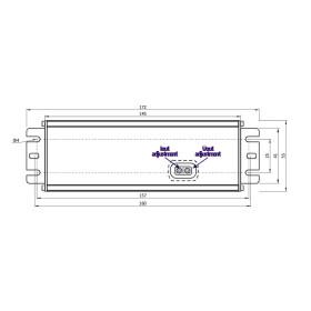 POS Netzteile 24V 2,5A Konstantspannung und Konstantstrom Metallgehäuse Serie MCHQ