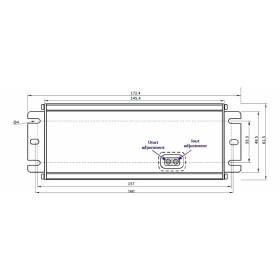 POS Netzteile 12V 6,7A Konstantspannung und Konstantstrom Metallgehäuse Serie MCHQ