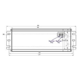 POS Netzteile 24V 4,1A Konstantspannung und Konstantstrom Metallgehäuse Serie MCHQ