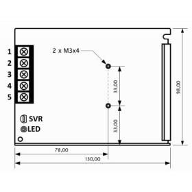 POS Netzteile 12V 2,9A Konstantspannung Metallgehäuse Serie POS