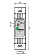 POS Hutschienen Netzteile 24V 0,63A Serie DINPOS Kunststoffgehäuse
