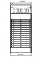 POS Hutschienen Netzteil 24V 1,7A Serie MDINPOS Kunststoffgehäuse