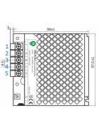 POS Netzteil 12V 6A 12V Konstantspannung Metallgehäuse POS-C Serie