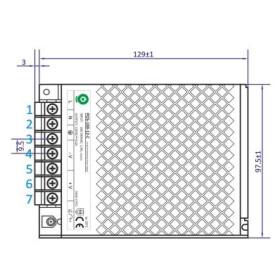 POS Netzteil 5V 18A 12V Konstantspannung Metallgehäuse POS-C Serie