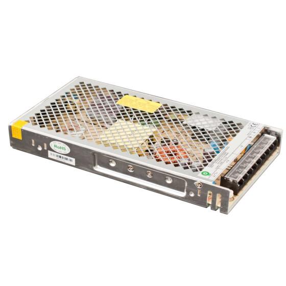 POS Netzteil 24V 8,8A 12V Konstantspannung Metallgehäuse POS-C Serie