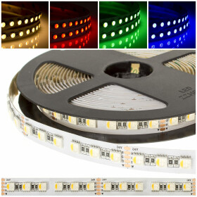 DEMODU® PREMIUM 24V LED Streifen RGBW 4 in 1 5m 96...