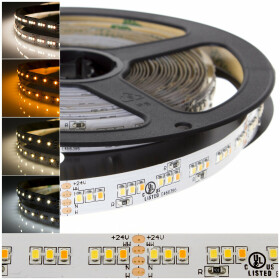 DEMODU® PREMIUM 24V LED Streifen Tri-color CCT 5m 252...