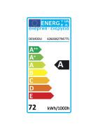DEMODU® ECO 12V LED Streifen RGB mehrfarbig bunt 5m 60 SMD/m 5050 IP20 dimmbar