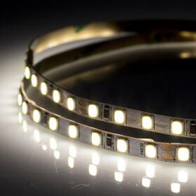 DEMODU® PREMIUM 24V LED Streifen Tageslicht 6000K 5m 120 SMD/m 2835 IP20 dimmbar