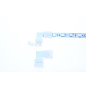 DEMODU SCON-90D-4P-12 RGB LED Streifen Verbinder 4 Pin
