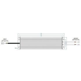 MW-Power A12S 1672 12V 16,7A 200W Netzteil