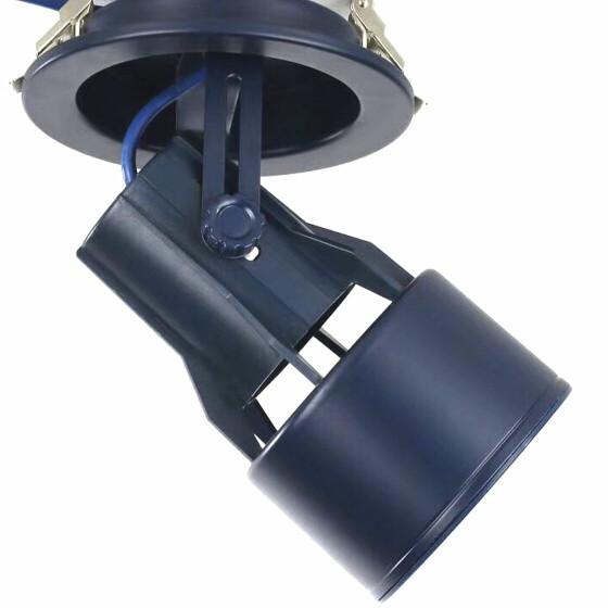 Einbaustrahler Gehäuse schwarz PAR30 E27 Fassung