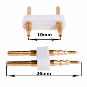 Verbinder 2-Pin für 230V 13mm SMD Streifen Leiste,...