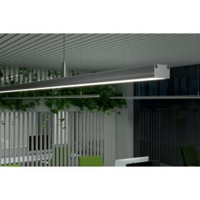 DEMODU® Stella LED Design Pendelleuchte für Arbeitsplatz und Büroräume 150cm 45Watt